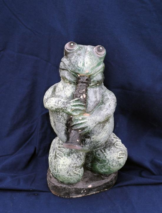 Frog with horn 13