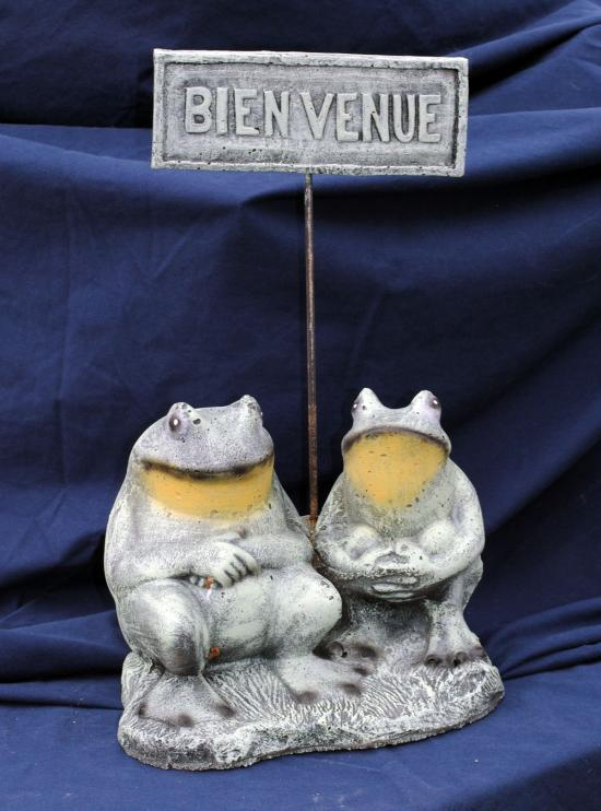 Welcome frogs-Eng. & French