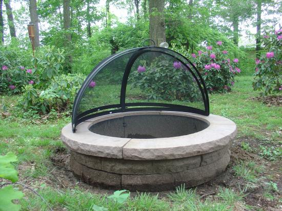 Firepit Inner Liner/Shield-Steel