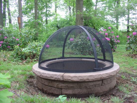 Dome Screen Firepit 46